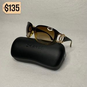 ✨✨✨✨SOLD✨✨✨✨Chanel Vintage Brown Sunglasses 6014